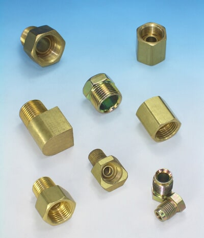 BRASS INCH ADAPTERS 015