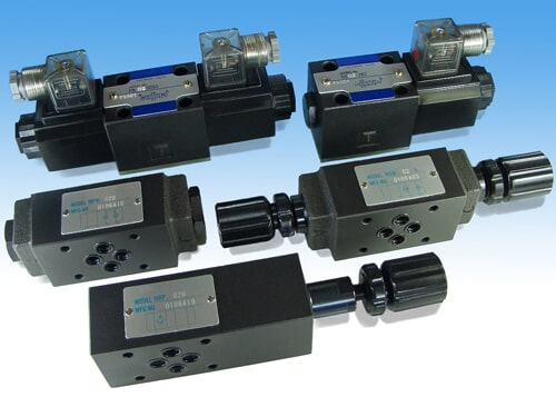 SOLENOID DIRECTIONAL CONTROL VALAES