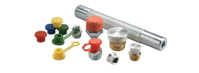 Grease heads, high pressure grease pipes (particularly flexible) and other accessories.